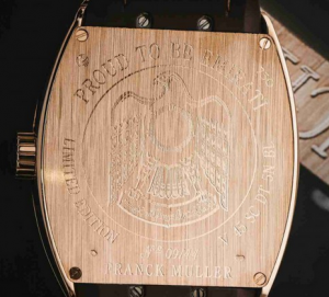 """Franck Muller """"Proud To Be Emirati"""" Limited Fake Watches"""