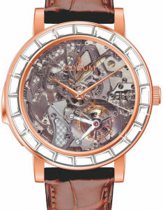 Special Men's Corum Heritage Minute Repeater Skeleton Fake Watches