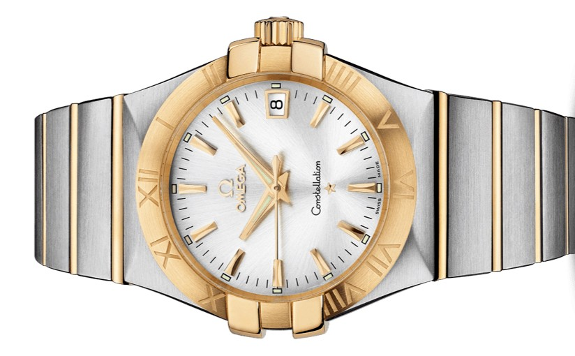 Men's Omega Constellation Fake Watches With Silver Dials