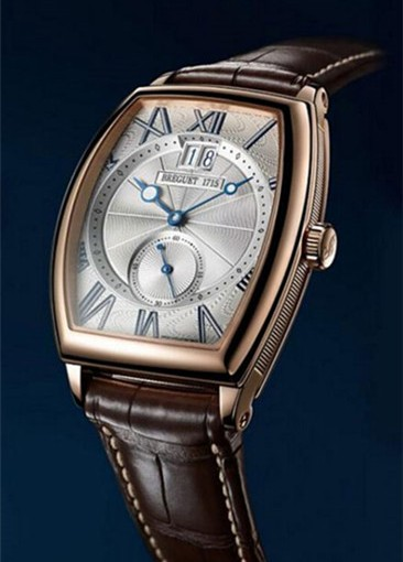 42MM Cheap Breguet Heritage 5410 Replica Watches With Hollow Blue Hands For Sale