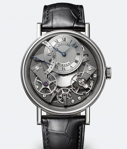 Breguet Tradition Fake Watches With Black Leather Straps Of Top Quality