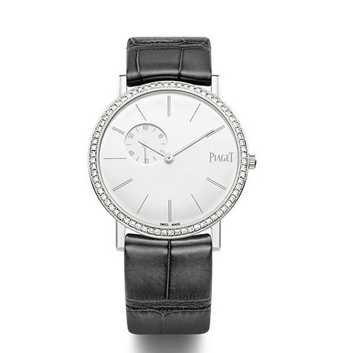 34MM Piaget Altiplano Fake Cheap Watches With White Gold Cases Of Good Quality