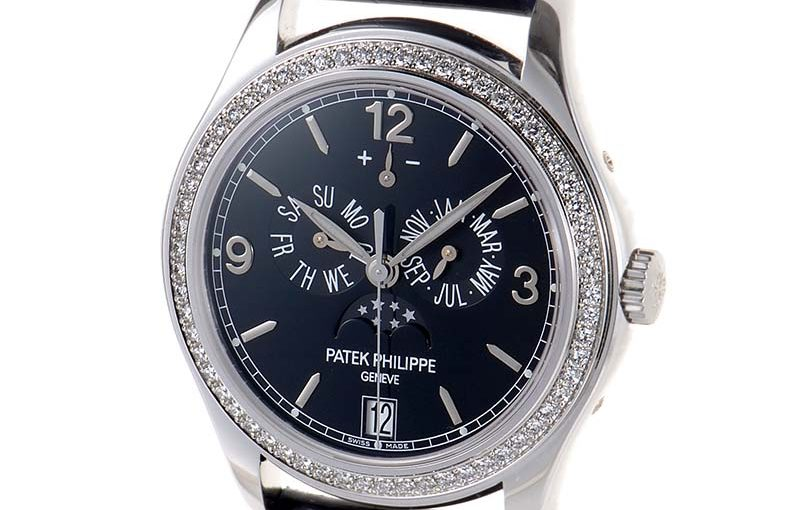 39MM Patek Philippe Complications Fake Watches With White Gold Cases Of Good Quality