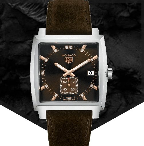 Kingsman Special Edition: New TAG Heuer Monaco Replica Watches With Matte Brown Calf Straps