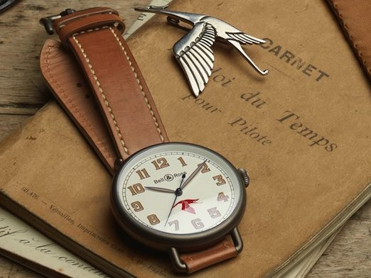 Limited Edition Bell & Ross Vintage Replica Watches With Milk White Dials Of Top Quality