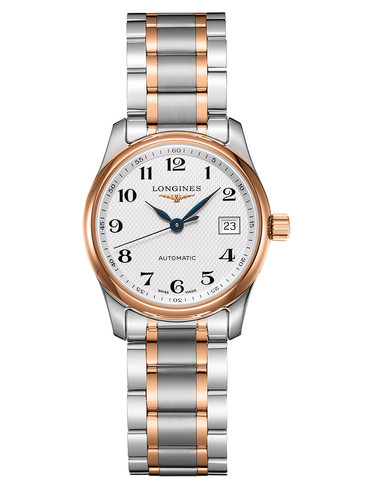 40MM Longines Master Fake Cheap Swiss Watches With Silver Dials For Hot Sale
