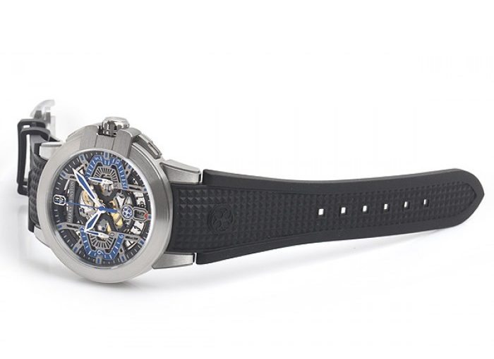 Limited Edition Harry Winston Project Z Fake Watches With Black Rubber Straps Of Top Quality