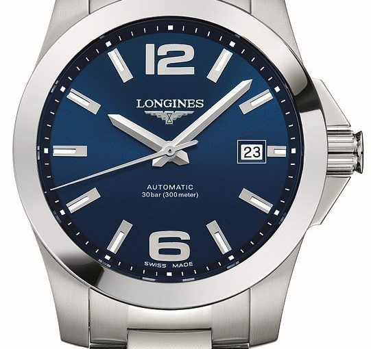 Decent Blue Dials For Longines Conquest Replica Cheap Swiss Watches For Men