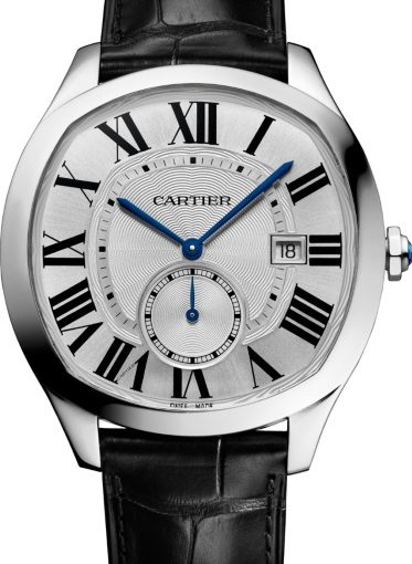 New Year's Recommendation: Drive De Cartier Knockoff Men's Watches With Black Leather Straps