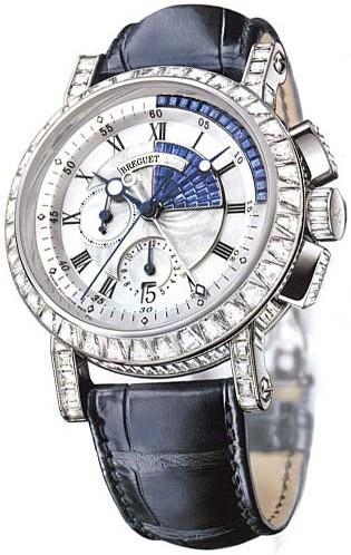 Precious Breguet Marine Swiss Knockoff Watches With Blue Sapphire Decorations For Recommendation