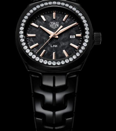New TAG Heuer Link Ladies' Watches Knockoff With Diamond Bezels For Hot Sale