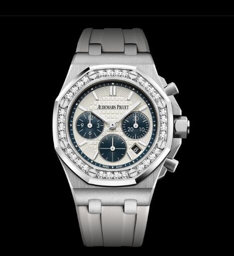 Innovative Audemars Piguet Royal Oak Offshore Replica Watches With White Rubber Straps