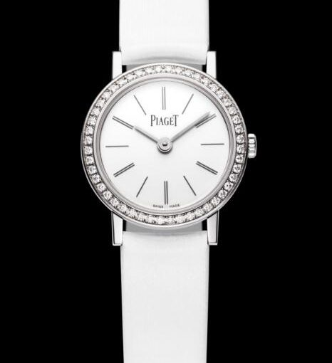 Pure Luxury And Elegance For Piaget Altiplano Fake Women's Watches With White Dials