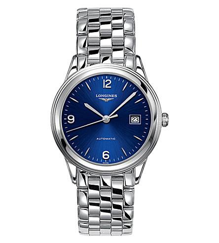 38.5MM Longines Flagship Knockoff Best Swiss Watches With Exquisite Blue Dials