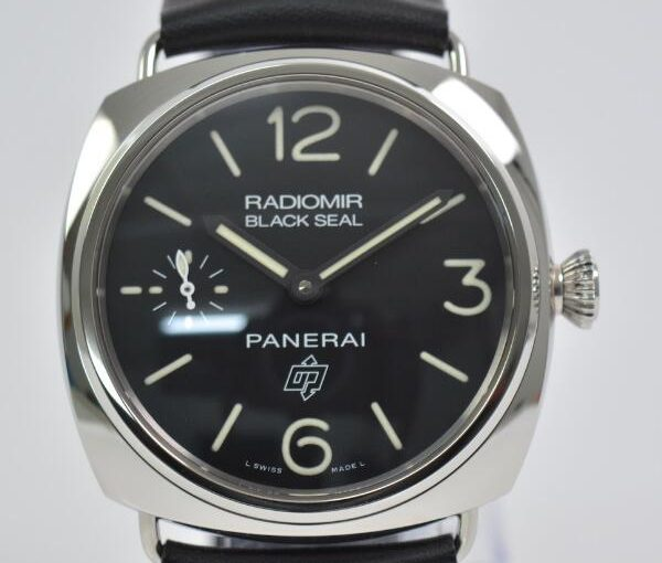 Reliable And Decent Panerai Radiomir Replica Men's Watches With Black Leather Straps