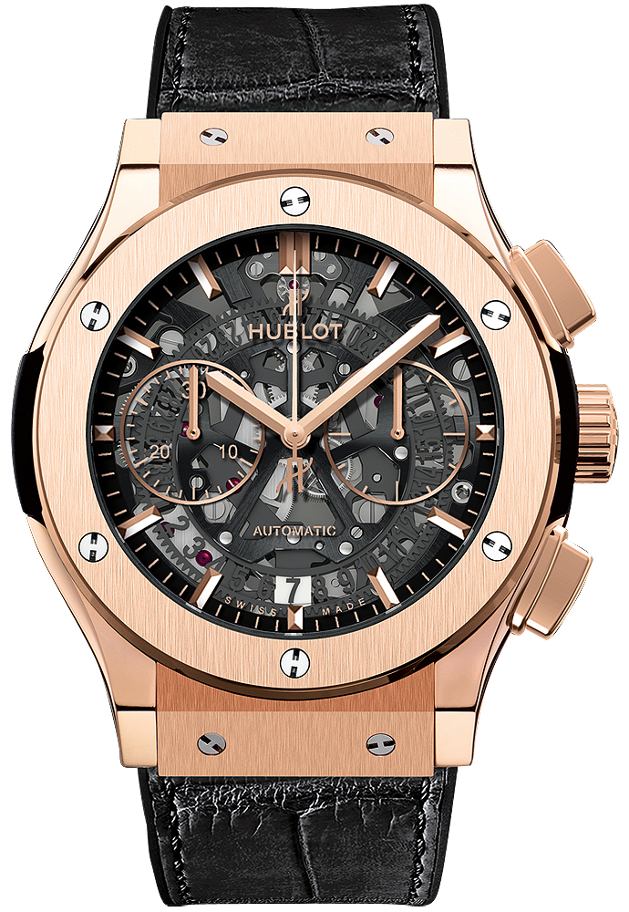 The men's wrist watches have glossy and magnificent appearances.