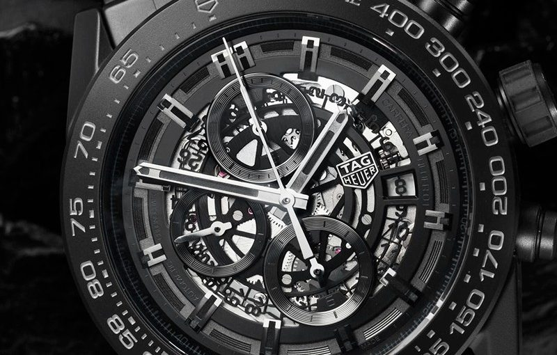 45MM Black Ceramic TAG Heuer Carrera Fake Watches Of Unique Styles
