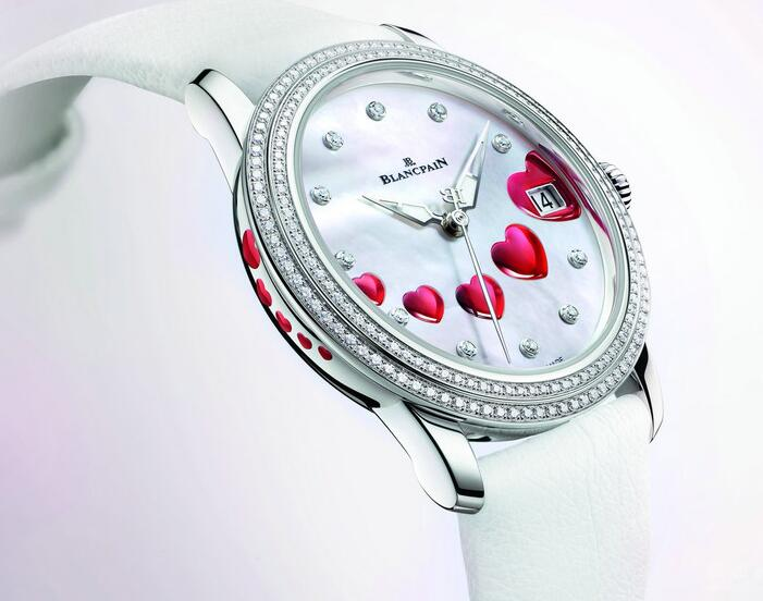 Forever duplication watches are fantastic with red hearts.
