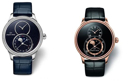 Appreciate The Moon With Advanced Fake Jaquet Droz Grande Seconde Moon Watches