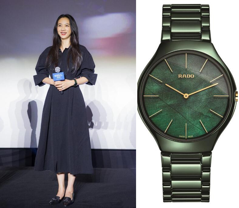 Forever imitation watches are totally in green.