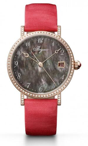 Swiss replication watches forever adopt Tahitian mother-of-pearl dials.
