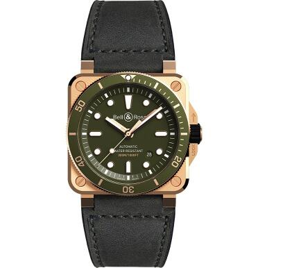 Bell & Ross sports a distinctive look of military style.
