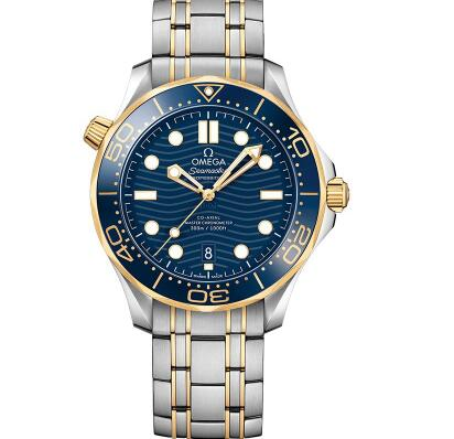 The Omega Seamaster is good choice for modern men.