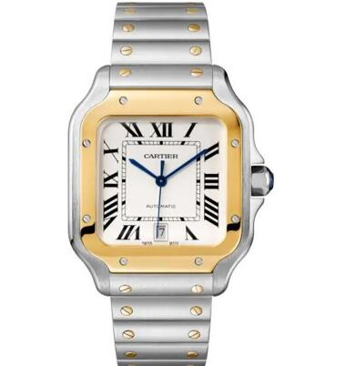 Gorgeous And Stylish Replica Watches With Gold And Steel Cases