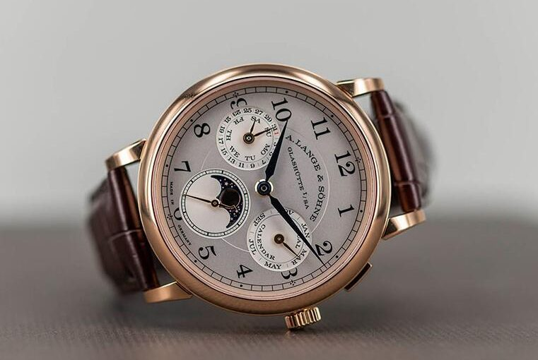 Hands-On Perfect Fake A. Lange & Söhne 1815 Annual Calendar 238.032 Watch