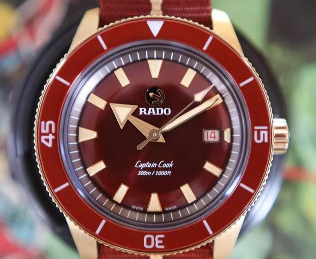 Top-selling Rado Captain Cook 01.763.0504.3.340 Fake Watches Online Attract You
