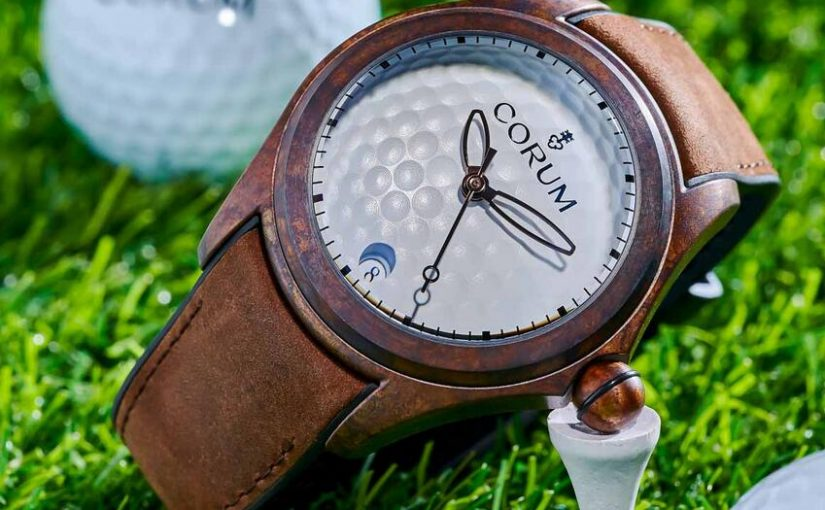 New Online Fake Corum Bubble 47 Golf Bronze L082/03810 Watches For Sale