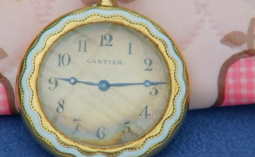 This Swiss fake Cartier pocket watch was not worth what she thought it was