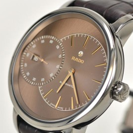 Rado DiaMaster Brown Dial Replica Watches