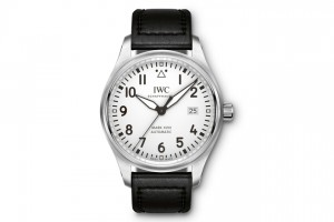 Replica-IWC-Mark-XVIII-white-dial-40mm