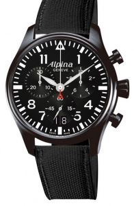 Alpina StarTimer Pilot Chrono Big Date Fake Watches