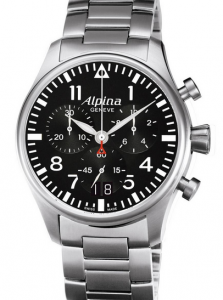 Alpina StarTimer Pilot Chrono Big Date Replica Watches