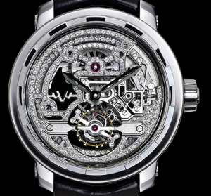 Men's DeWitt Twenty-8-Eight Skeleton Tourbillon Fake Watches