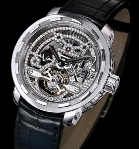 Men's DeWitt Twenty-8-Eight Skeleton Tourbillon Replica Watches