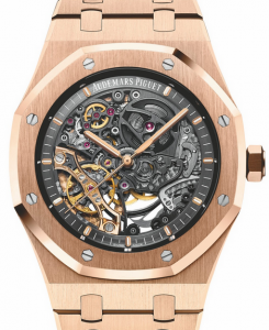 Audemars Piguet Royal Oak Double Balance Wheel Openworked Fake Watches