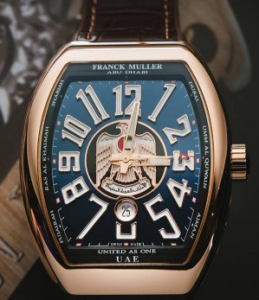 "Franck Muller ""Proud To Be Emirati"" Limited Replica Watches"