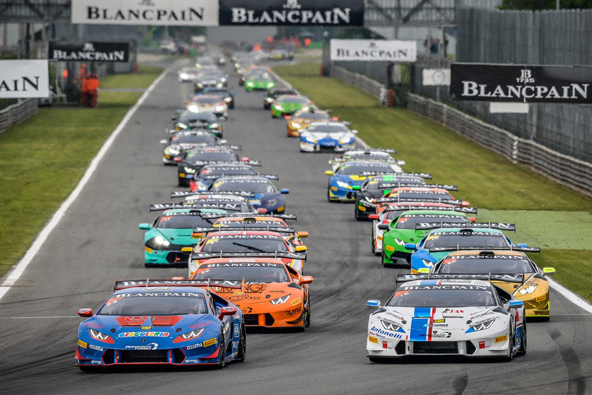 Men's Blancpain Fake Watches And Motorsport