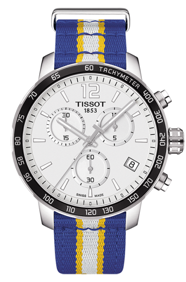 Tissot Golden State Warriors Quickster Copy Watches With Steel Cases