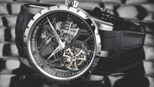 Unique Roger Dubuis Excalibur Skeleton Flying Tourbillon Fake Watches