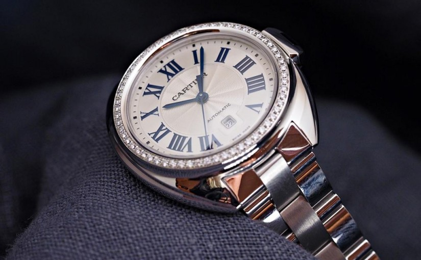 Clé De Cartier Replica Watches With White Gold Cases