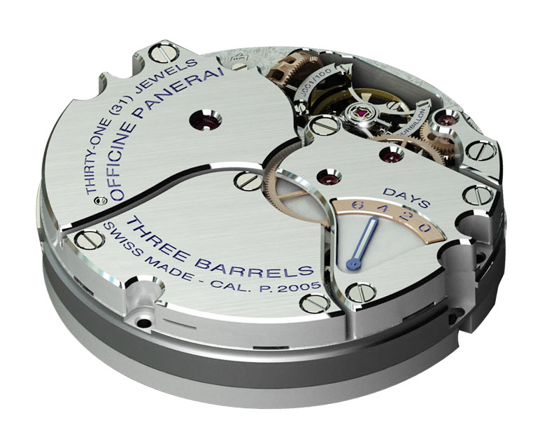 P.2005 Movements Of Duplicate Panerai Watches