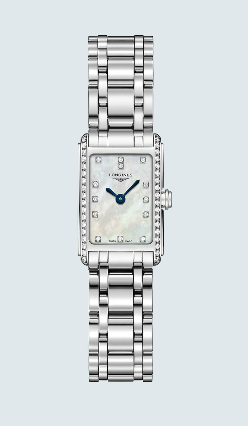 Longines DolceVita Fake Watches With Diamonds Indexes