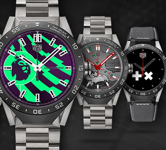 6 New Watchfaces For Copy TAG Heuer Connected Watches