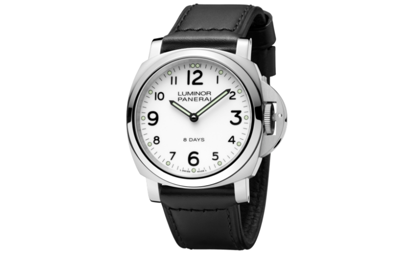Men's Fake Panerai Luminor Watches With White Dials