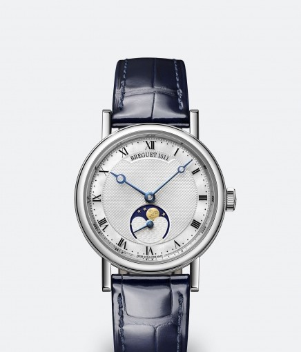 Cheap Breguet Classique Dame 9087 Replica Watches With Blue Hands For Sale