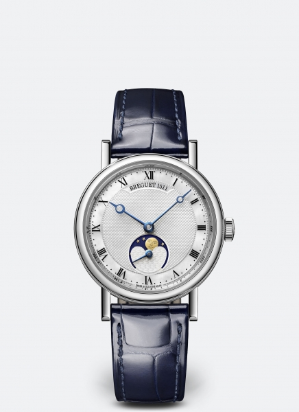 Breguet Classique Dame 9087 Replica Watches With Blue Hands